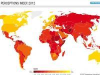 Korrupsiyaga qarshi kurashish 2012-yil indeksi