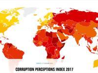 Коррупцияга қарши курашиш 2017-йил индекси