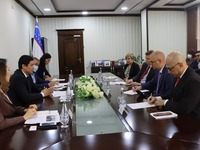 Meeting between representatives of the Anti-corruption agency and the International monetary fund