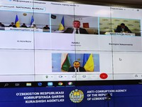 Обсуждены перспективы сотрудничества с антикоррупционными структурами Украины