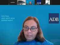 Online meeting of Anti-corruption agency and Asian development bank