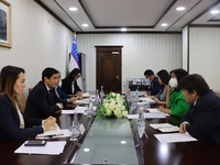 A meeting between the representatives of the Anti-Corruption Agency and the Office of the Adviser to the President of the Republic of Uzbekistan S. Chakrabarti in Uzbekistan