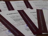 Korrupsiyaga qarshi kurashish agentligi xodimlariga xalqaro sertifikatlar topshirildi