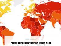 Коррупцияга қарши курашиш 2016-йил индекси